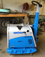 Weber CR-7 MSM/CCD Compactor
