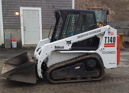Ethan Poulin Landscaping Equipment