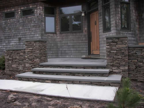 Ethan Poulin Landscaping Steps